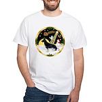 NightFlight-German Shep3 White T-Shirt