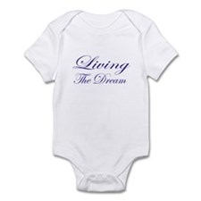 Living the Dream Purple Infant Bodysuit
