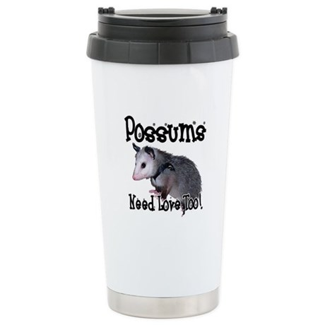 Possums Need Love Ceramic Travel Mug