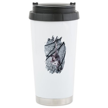 Moonlight Possum Ceramic Travel Mug
