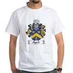 Angelis Family Crest White T-Shirt