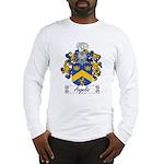 Angelis Family Crest Long Sleeve T-Shirt