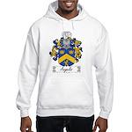 Angelis Family Crest Hooded Sweatshirt
