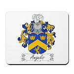 Angelis Family Crest Mousepad