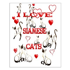 I Love Siamese Cats Posters