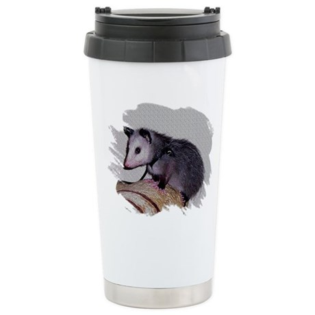 Baby Possum Ceramic Travel Mug