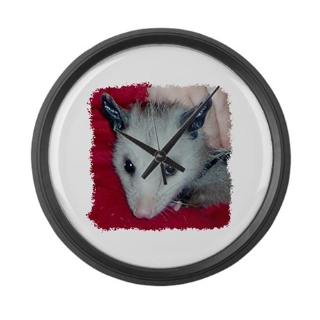 Little Possum Large Wall Clock