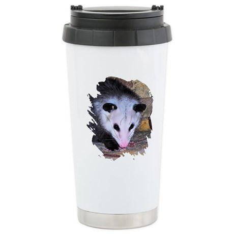 Virginia Opossum Ceramic Travel Mug