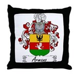 Armano Family Crest Throw Pillow