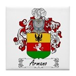 Armano Family Crest Tile Coaster
