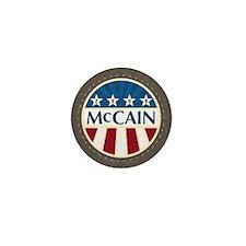 McCain Stars & Stripes Mini Button