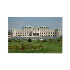 Belvedere Palace Rectangle Magnet