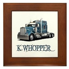 K Whopper Framed Tile