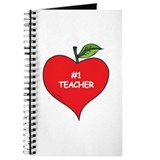 Heart Apple #1 Teacher Journal