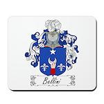 Bellini Family Crest Mousepad