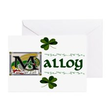 Malloy Celtic Dragon Greeting Cards (Pk of 10)