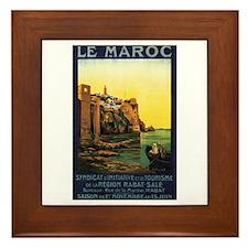Morocco Maroc Framed Tile