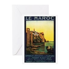 Morocco Maroc Greeting Cards (Pk of 10)