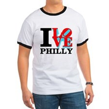 Cute I love philly T