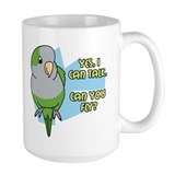 Can You Fly Quaker Parrot Mug