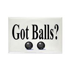 Got Balls? (Bowling) Rectangle Magnet (100 pack)
