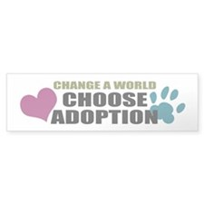 Choose Adoption Bumper Bumper Sticker