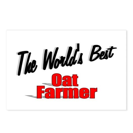 """The World's Best Oat Farmer"" Postcards (Package o"