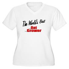 """""""The World's Best Oat Grower"""" T-Shirt"""