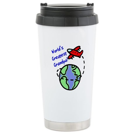 World's Greatest Grandpa Ceramic Travel Mug