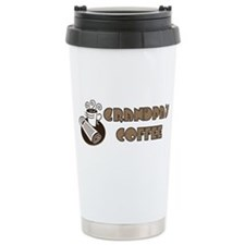 Grandpa's Coffee Ceramic Travel Mug