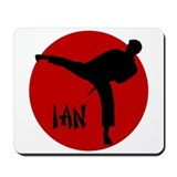 Ian Martial Arts Mousepad