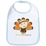 First Thanksgiving Baby Bib