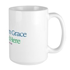 FELL FROM GRACE LANDED HERE Ceramic Mugs