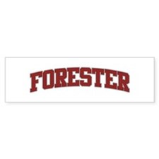 FORESTER Design Bumper Bumper Sticker