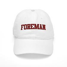 FOREMAN Design Baseball Cap