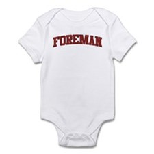 FOREMAN Design Infant Bodysuit