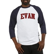EVAN Design Baseball Jersey