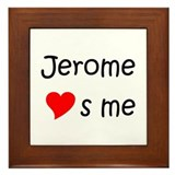 Cool Jerome Framed Tile