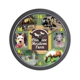 TLC OASIS SHELTIES Wall Clock