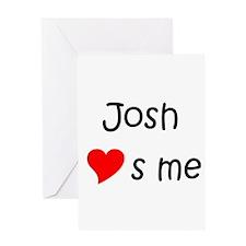 Cute Josh Greeting Card