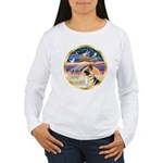 XmasStar/German Shepherd #13B Women's Long Sleeve