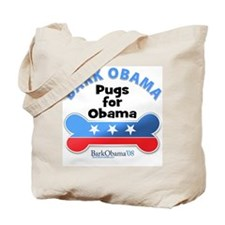Bark Obama Tote Bag
