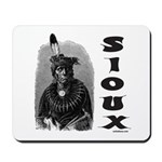 SIOUX INDIAN CHIEF Mousepad