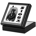SIOUX INDIAN CHIEF Keepsake Box