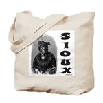 SIOUX INDIAN CHIEF Tote Bag