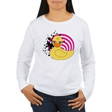 Girly Rubber Ducky T-Shirt