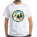 Take Off1/German Shepherd #13 White T-Shirt