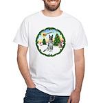 Take Off1/German Shepherd #12 White T-Shirt