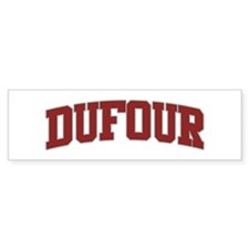 DUFOUR Design Bumper Bumper Sticker