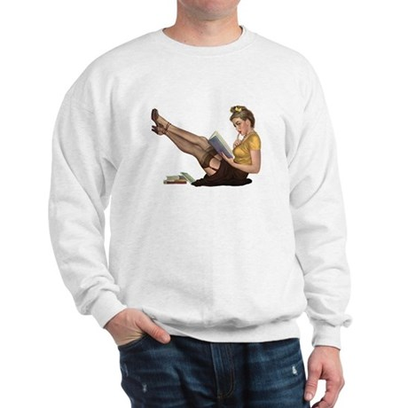 Librarian Girl Sweatshirt